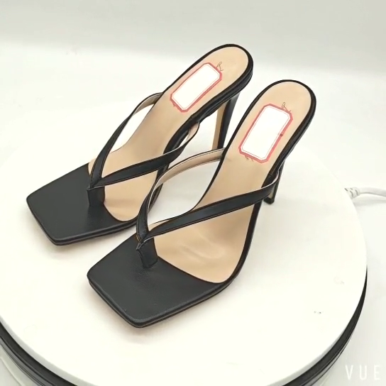 Женская обувь со змеиным узором на каблуке-шпильке туфли на высоком каблуке; Вьетнамки; Женская обувь с квадратным носком; Летние босоножки