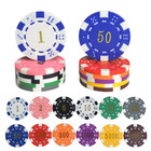Chips Sets Chip Set Hot 200pcs Texas ABS Poker Chips Sets With Acrylic Poker Chip Tray Casino Metal Coins Set
