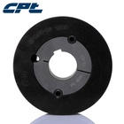 Hot selling CPT cast iron SPZ160-03-2012 v belt pulley with low price, 160mm pitch diameter, 3 grooves with 2012 taper bush
