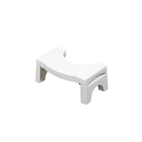 Bathroom plastic Folding Squatting baby bath Stool Convenient and Compact Fits All Toilets Folds for Easy Storage