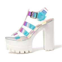 2020 zapatos de pasarela de verano zapatillas de pez