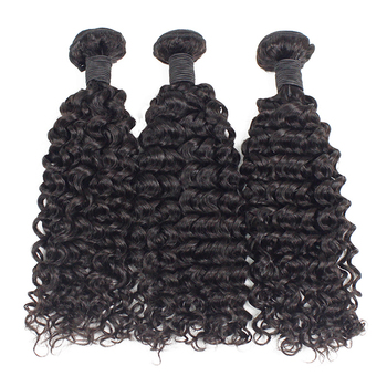 Top quality Raw human hair India natural virgin  India kinky curly indian hair weave bundles unprocessed