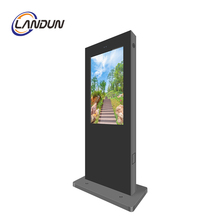 Anpassen 43 49 55 65 zoll Outdoor <span class=keywords><strong>TFT</strong></span> lcd full hd display Werbung multimedia digital signage monitor kiosk