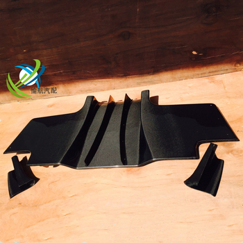 For RX7 FD3S RE-GT RE Style carbon fiber Rear Diffuser with Middle Blade Fin ( 5pcs/set )