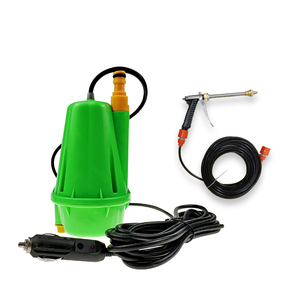 12V Portable Mini Electric High Pressure Power Car Washer Water Pump With Spray Gun