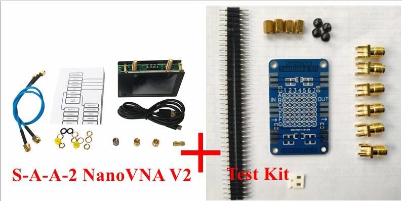 S-A-A-2 NanoVNA V2 3GHz 2.2 version 2.8