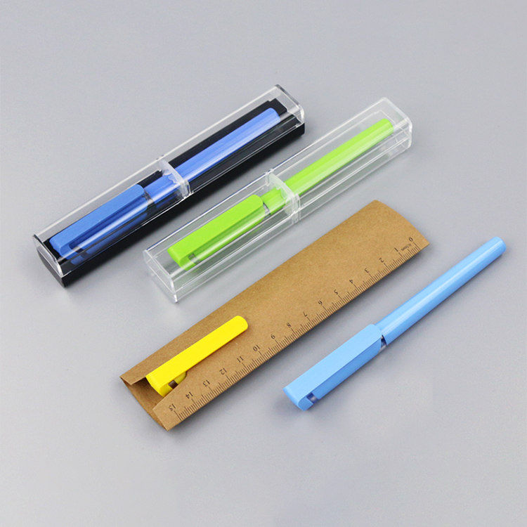Wholesale Custom Black Gel Pens Set Korean Fountain Pen With Refill