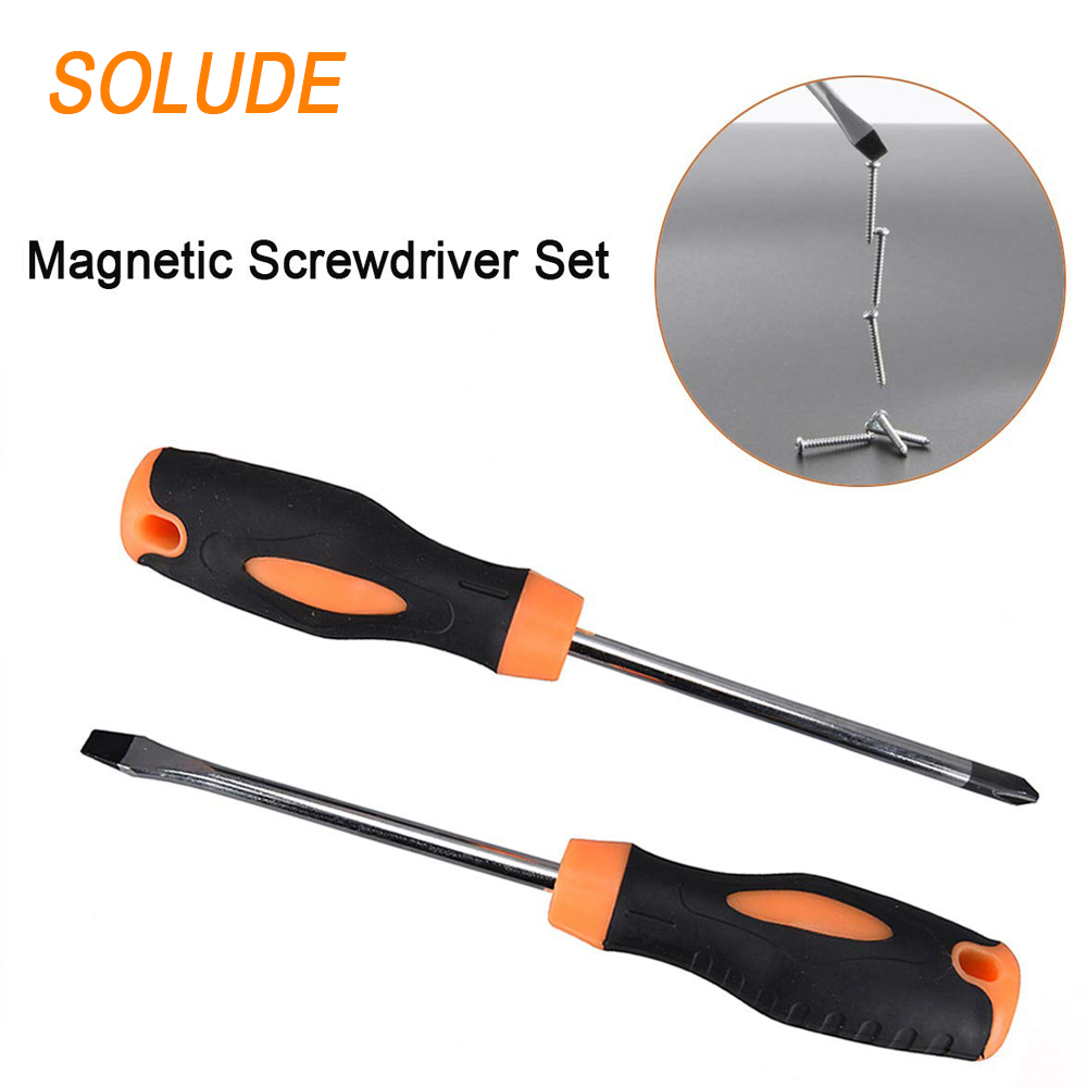 SOLUDE Screwdriver Hammer Wrench Hardware Electric Household Repair Hand Tools Box Set