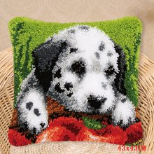 Набор для вышивания ковров Foamiran, игла для собак, набор для рукоделия Smyrna, посылка с кнопками, набор крючков(Китай)