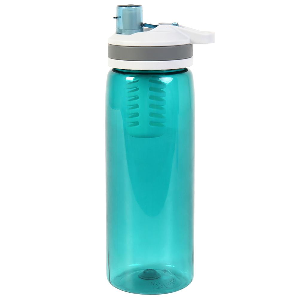 Фильтр для воды соломинка 770 мл Открытый Спорт герметичный фильтр для воды бутылка очиститель воды для кемпинга Пешие прогулки альпинизмом ...(Китай)