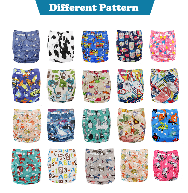 China Custom Washable Reusable Organic Bamboo Newborn Baby Cloth Diaper Wholesale Manufacturer