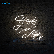 Happily ever after Hochzeit Custom LED Neon <span class=keywords><strong>Zeichen</strong></span>