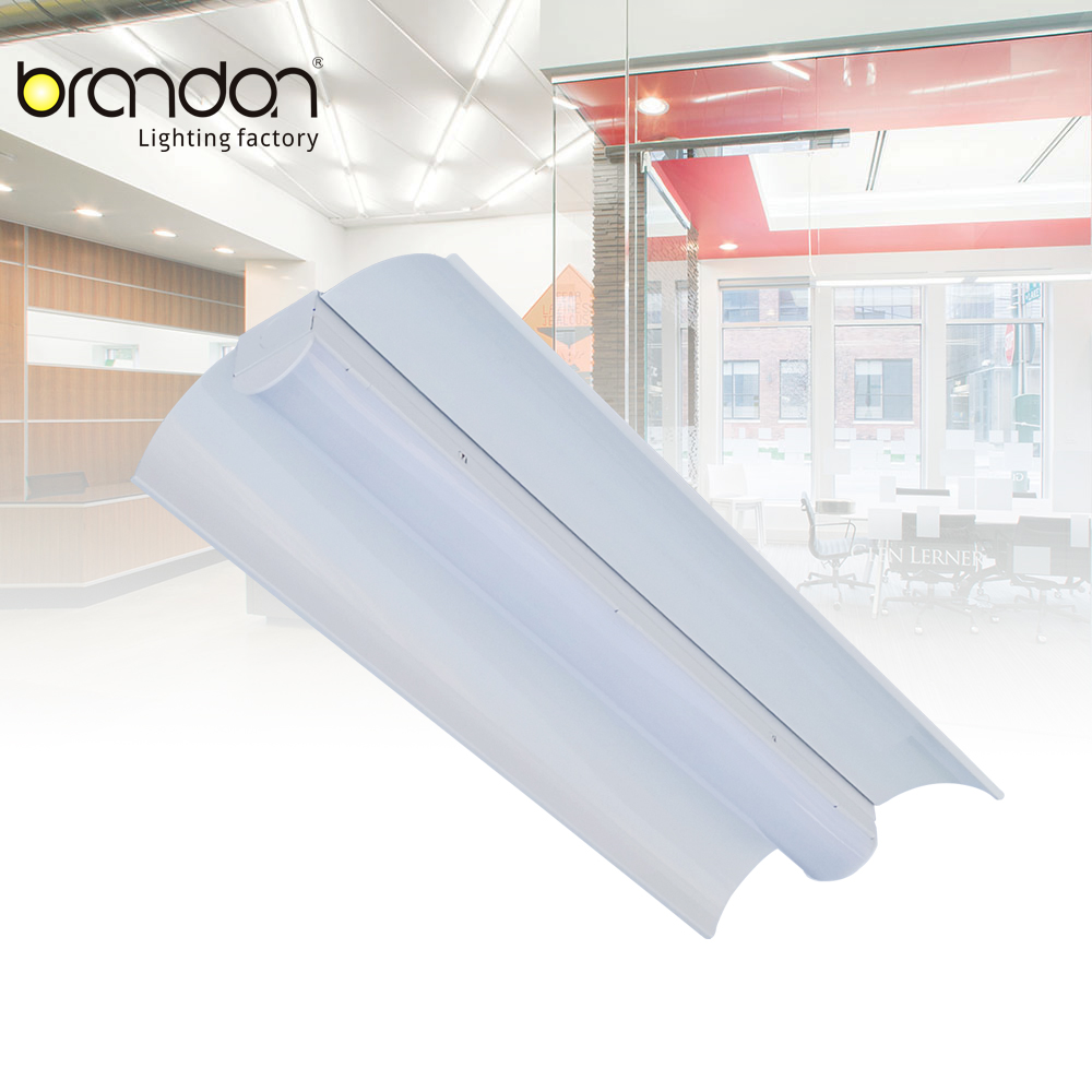 Dimmable low-profile slim strip lights 2 feet/4 feet ceiling installations linear led luminaire for offices