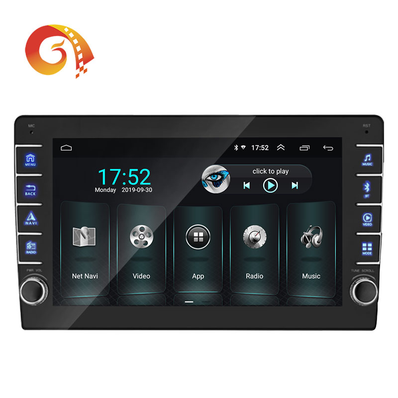 Universal 9 Zoll Touchscreen Single 1 Din Android 8.1 Auto Navigation Video Radio Stereo Audio Auto Dvd Player