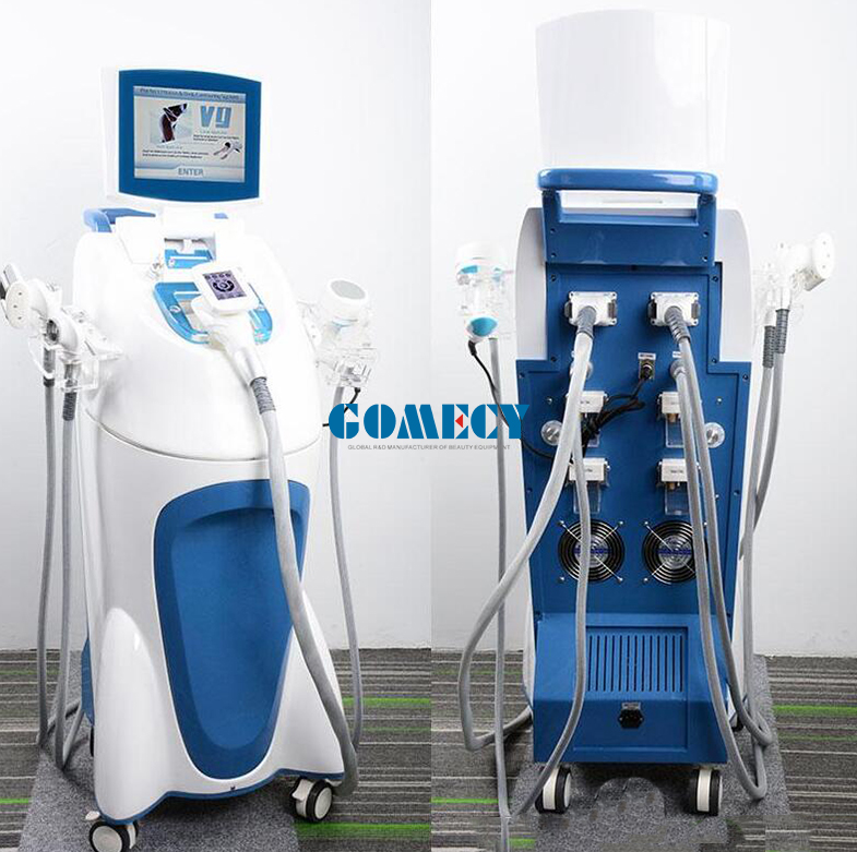 GOMECY OEM service available RF Vacuum Roller Velashape 9 fat Cellulite Reduction CE, ISO TUV factory site certificated