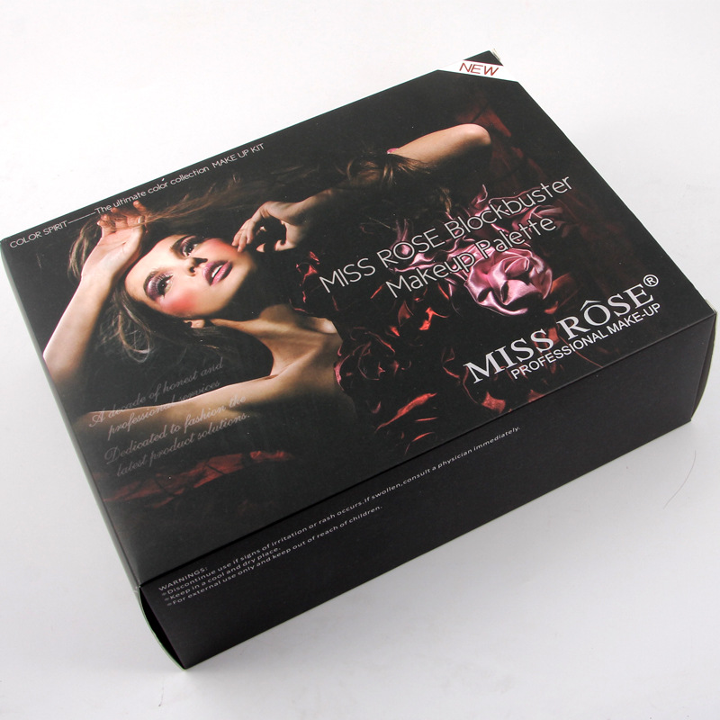 Hot selling 190 colors MISS ROSE Makeup Kit Complete Piano Make Up Set