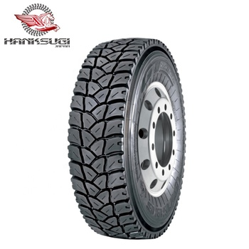 Hanksugi All Steel New 245/70R19.5 Tbr Truck Tyre for Africa market