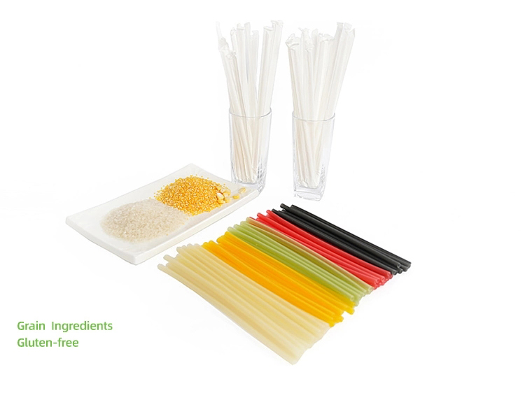 sustainable suppliers of biodegradable and compostable rice drinking straw