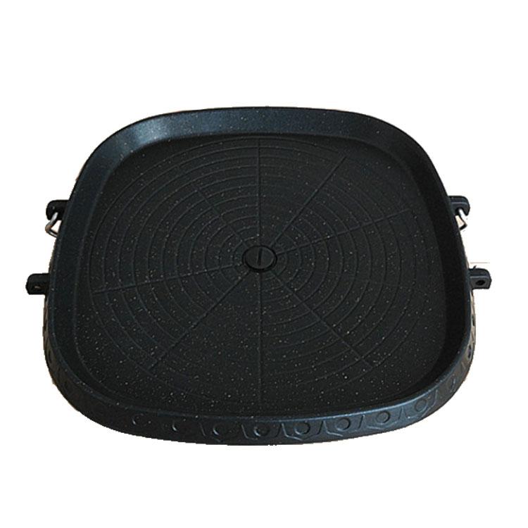 2020 Groothandel Amazon Bbq Grills Gietijzeren Pan Met Handvat 10Pcs/Carton