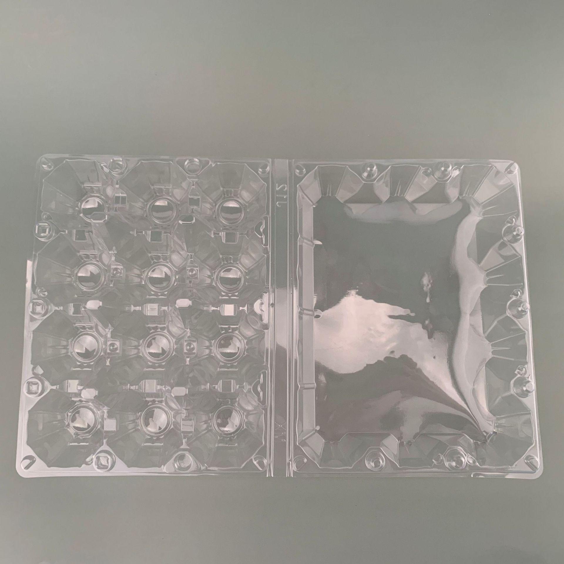 En gros en plastique POUR ANIMAUX de compagnie 4 cellules 6 cellules 12 cellules plateau d'oeufs pour l'emballage des oeufs