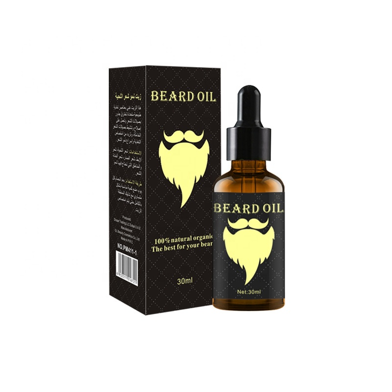 wholesale Private Label 100% Pure Natural beard growth oil for mens
