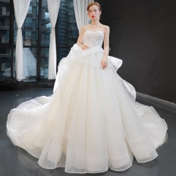 Jancember RSM66962 factory off shoulder 2019 designs latest sexy baby girl wedding dress