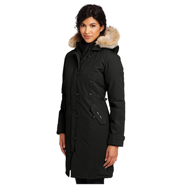 7890 Woman Canada Winter Waterproof Minus 30 Degrees Down Coat Skiing Jacket