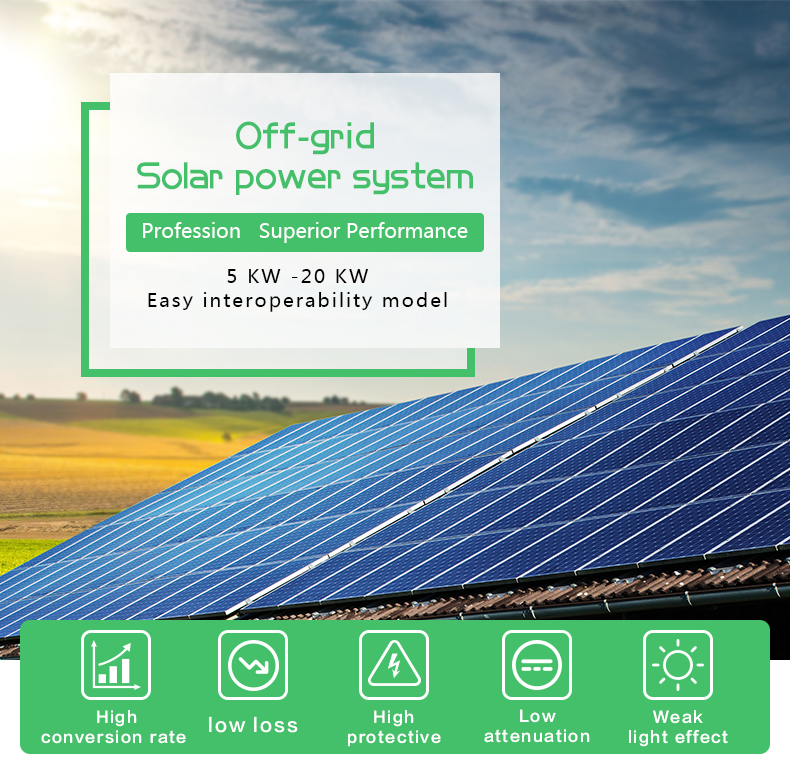 500w off grid solar inverter customized for street