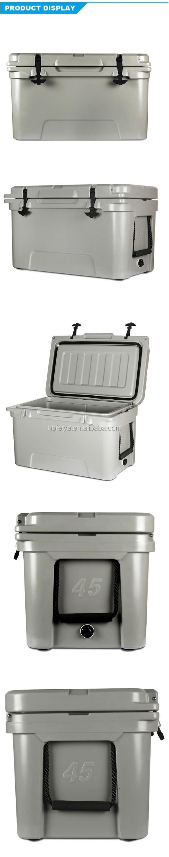 Premium 45 Quart Custom Color hard cooler Picnic Camping Rotomolded ice Coolers