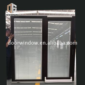 Factory price wholesale window and sliding door treatments wide patio doors