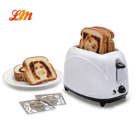 Hot Sale and Can Customized Logo Plate 2 Slot Toaster