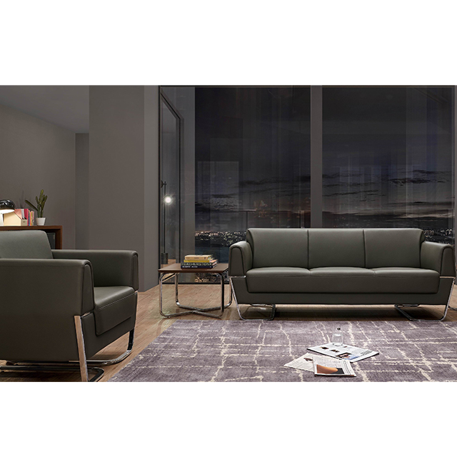 PU leather office sofa SF169 guangzhou office <strong>furniture</strong> market