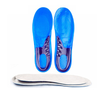 Amazon hot Orthopedic insoles for flat feet custom orthotic insoles silicone shoes