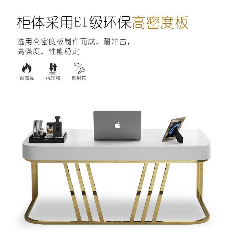 ماربل حاسب آلي يوضع على الطاولة مكتب بسيط حديث بوس مكتب رئيس