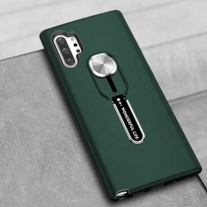 Shockproof Tpu Pc Hybrid Kickstand Cell Phone Case for Samsung Galaxy Note 10 Mobile Back Cover for Samsung Note 10 Plus