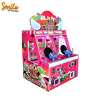 2.Double Players Kids Mini Dino Land Shoot Gun Arcade Simulator Redemption Ticket Shooting Ball Game Machine