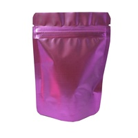 Heat seal retail package bag aluminum foil stand up pouches for tea snacks