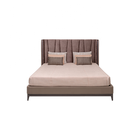 Life Home Premiere Classic Modern Latest Slat Support King Size Platform Wooden Bed