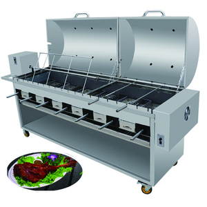 Electric bbq grill with water tray heavy duty bbq grill