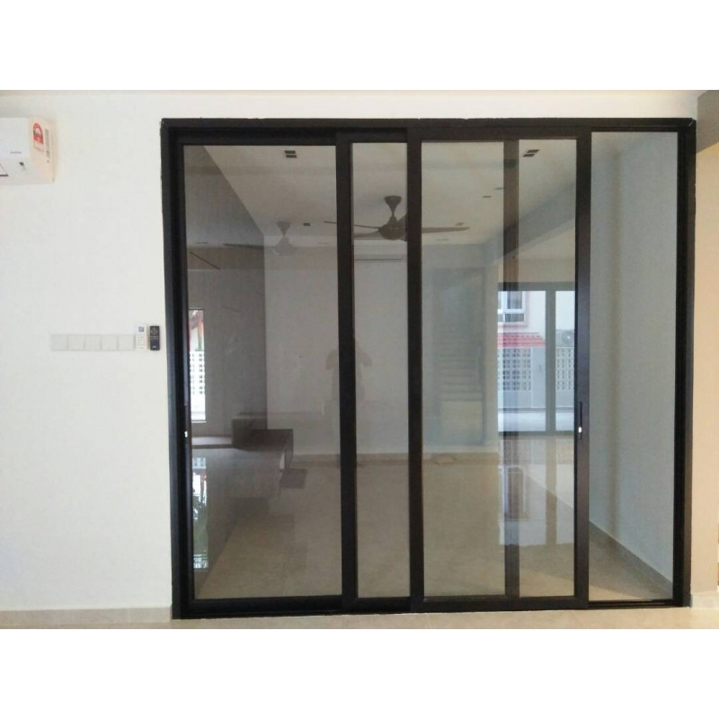 product-Zhongtai-18002400mm Modern House Security Aluminium Glass Sliding Door-img