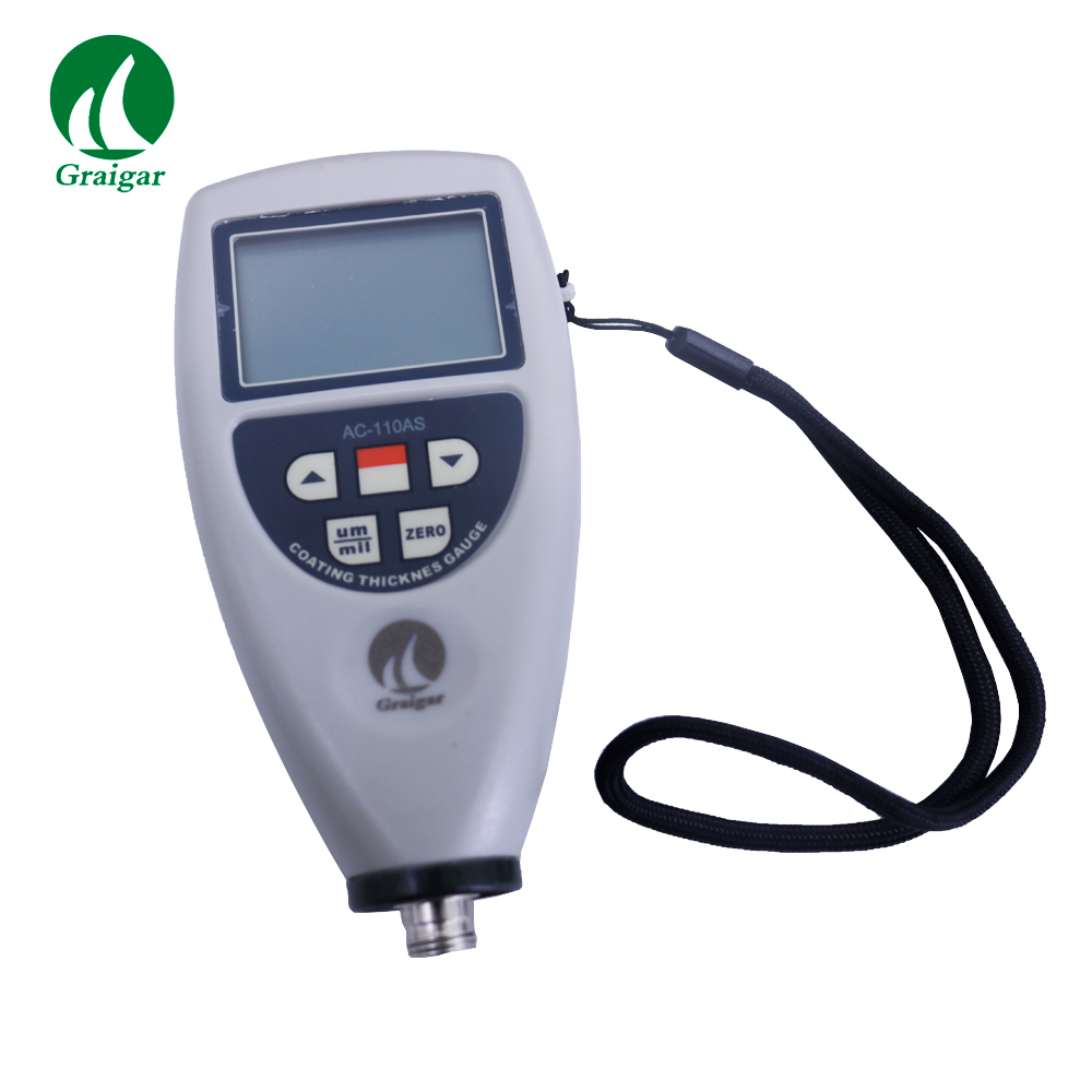AMITTARI AC-110AS Professional Coating Thickness Gauge Measuring Range 0~1250 um