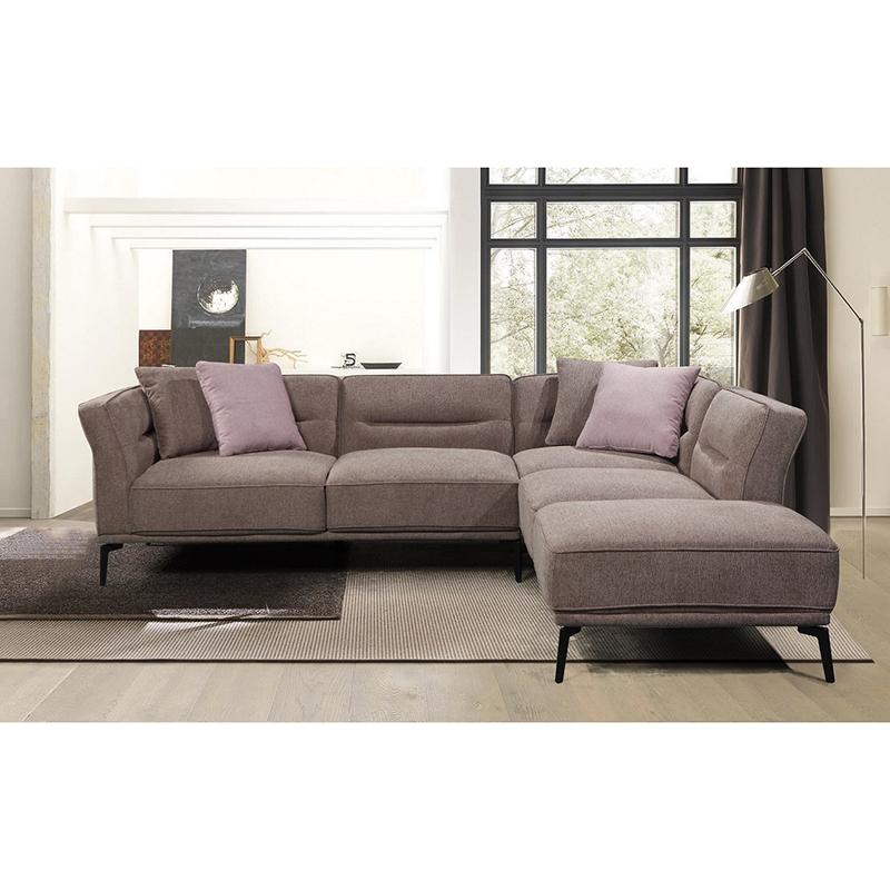 Popüler yeni tasarım mobilya oturma odası ev mobilya lüks koltuk takımları kesit oturma odası kanepeleri