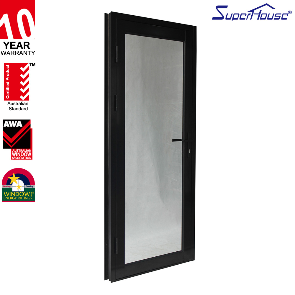 10 years warranty high quality Miami Dade NOA glazed impact resistance exterior doors