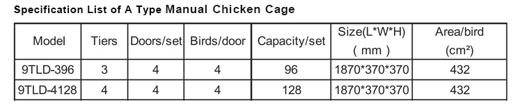 Modern Design H Type Automatic Egg Poultry Farms Battery Layer Chicken Cages