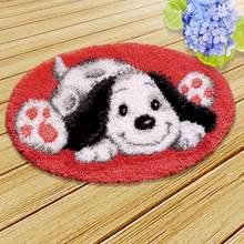 Набор ковриков с крючками для вышивания ковров, крючок для вышивания животных, вышивка крестиком, Foamiran для рукоделия, Knooppakket Smyrna(Китай)