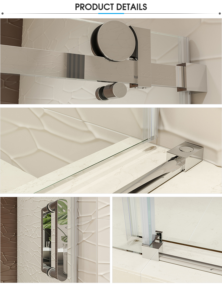 High standard sliding glass shower door hardware handles,shower door sliding rail