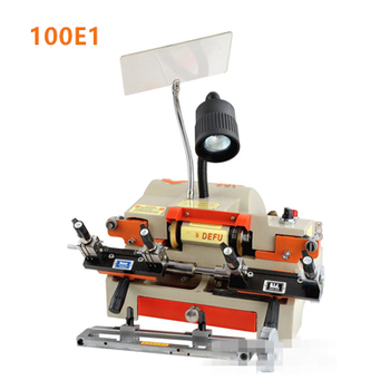 New high quality 100E1 best car key copy machine key cutting duplicate key making machine