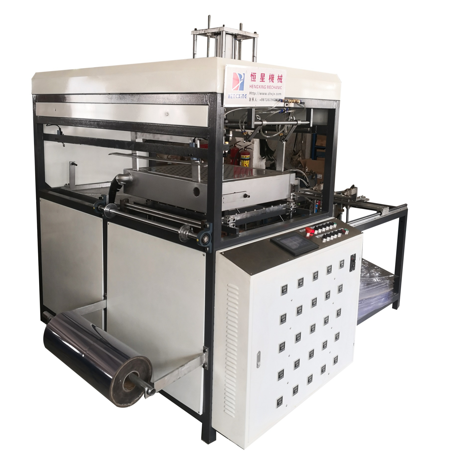 PVC / PET / PP / PS/ABS/EVA Automatic Plastic Blister Vacuum Forming Molding Machine Factory Price