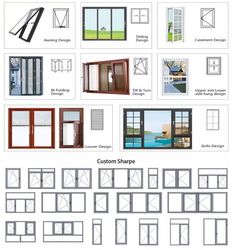 Produits de qualité taille personnalisée patio portes françaises intérieures en fibre de verre bon prix