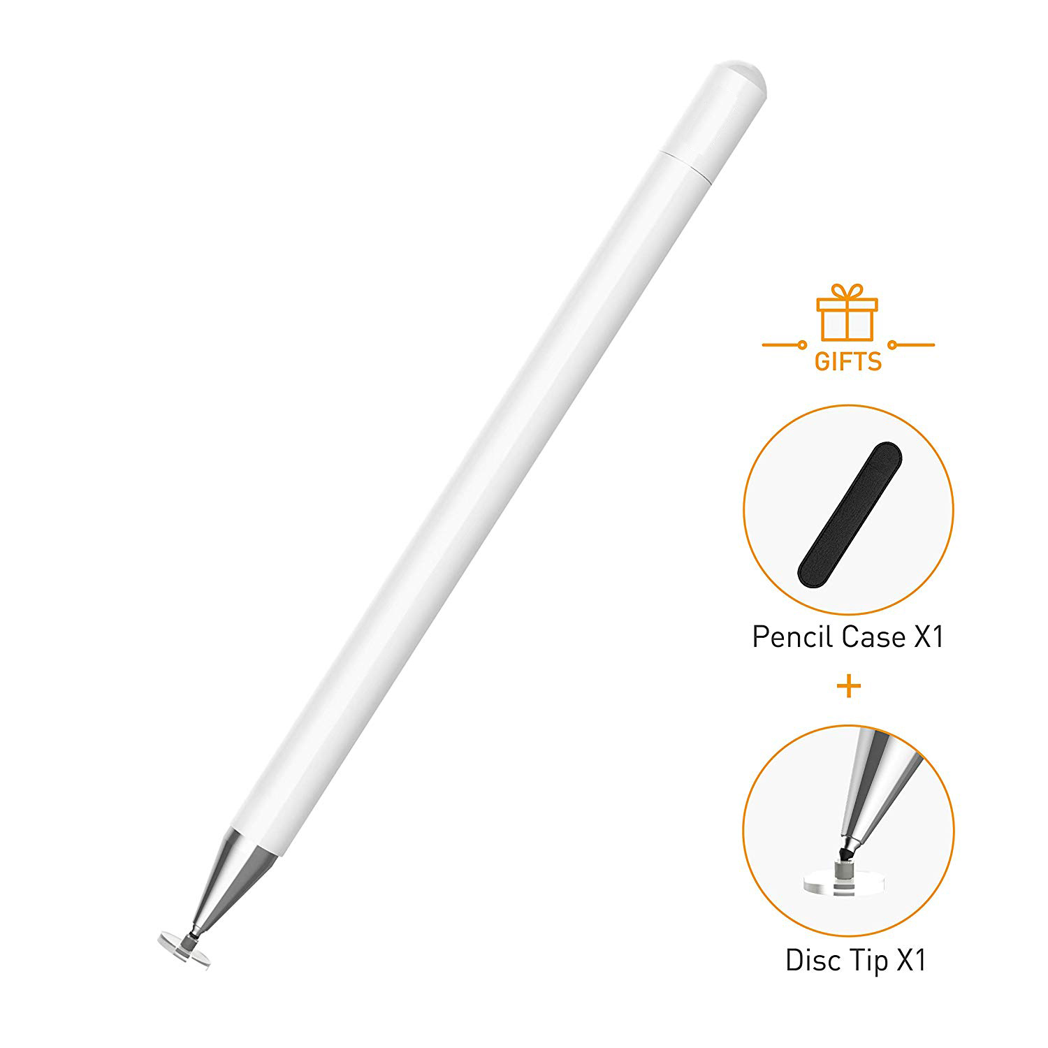 Capacitive Touch Stylus Pen for Apple iPad Galaxy Kindle Fire HDX tablet